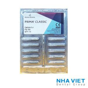 Mũi Prima Classic FG - mui khoan carbide - mui khoan nha khoa