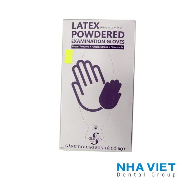 Găng tay Latex Powdered có bột