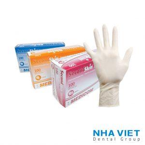 Găng tay Second Skin Latex có bột - XS, S, M, L