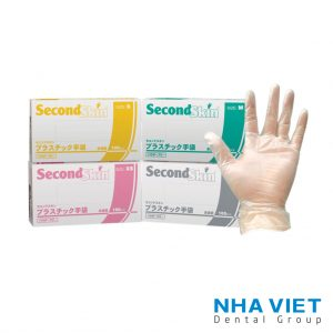 Găng tay SecondSkin Vinyl Medical Examination Gloves