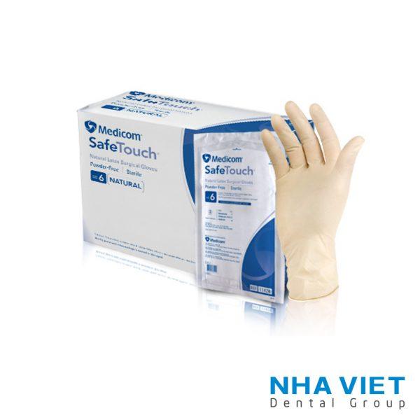 Găng tay phẫu thuật không bột Sterile Latex