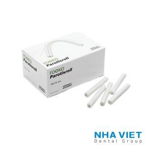 Gòn cuộn PAROTISROLL nguyên cung răng (10 x 80mm)