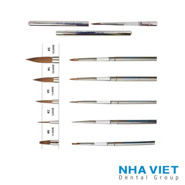 Bo c dap su long chon Natural Brush Set