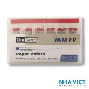 Cone giấy Diadent 25