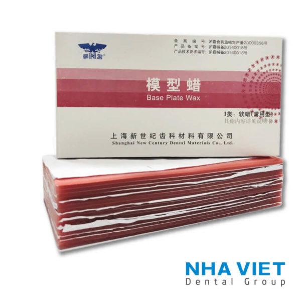 Sáp hồng miếng Base Plate Wax