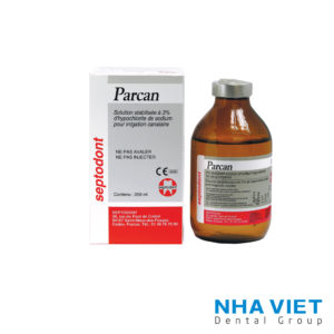 Dung dịch bơm rửa Sodium hypochlorite Parcan Septodont