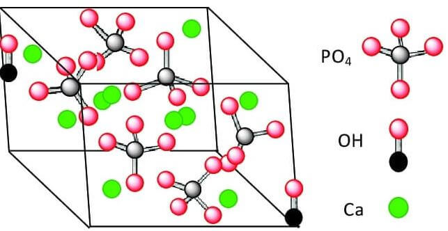 tinh thể hydroxyapatite